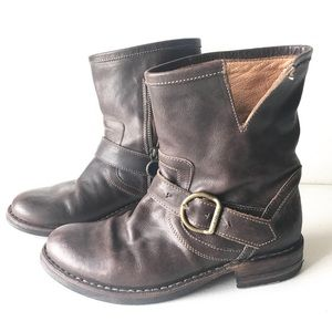 FIORENTINI + BAKER Eli ankle BOOTS brown 35 5